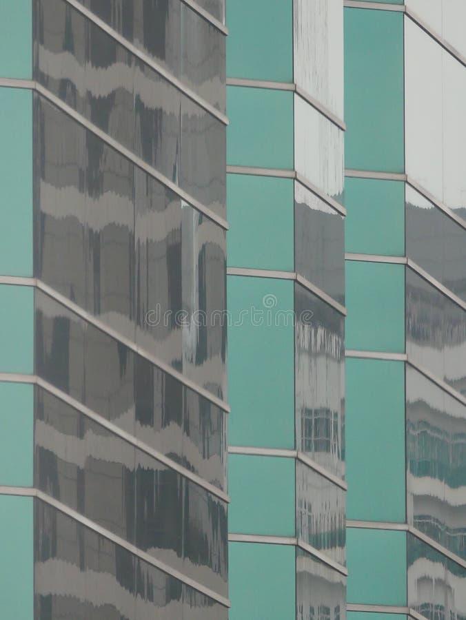 Абстрактные отражения зданий стоковая фотография