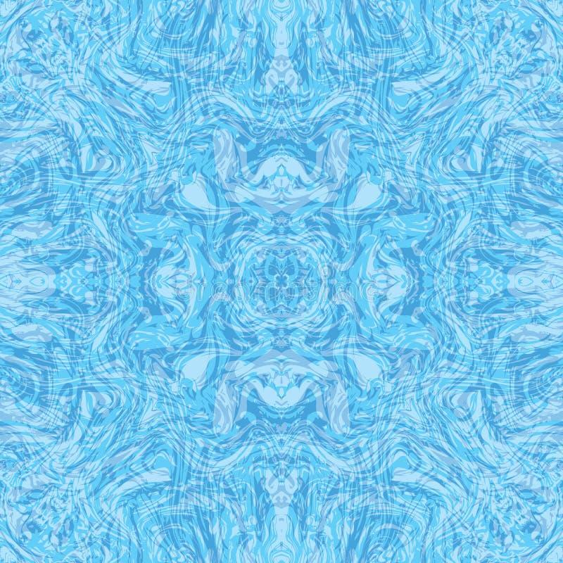 Абстрактное безшовное illusration картины мраморизованной текстуры бесплатная иллюстрация