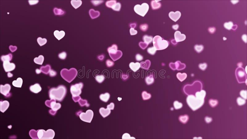 абстрактное сердце предпосылки иллюстрация штока