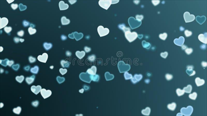 абстрактное сердце предпосылки бесплатная иллюстрация