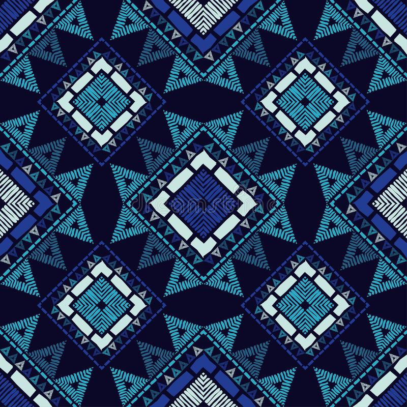 Ethnic boho seamless pattern. Patchwork texture. Weaving. Traditional ornament. Tribal pattern. Folk motif. stock photos