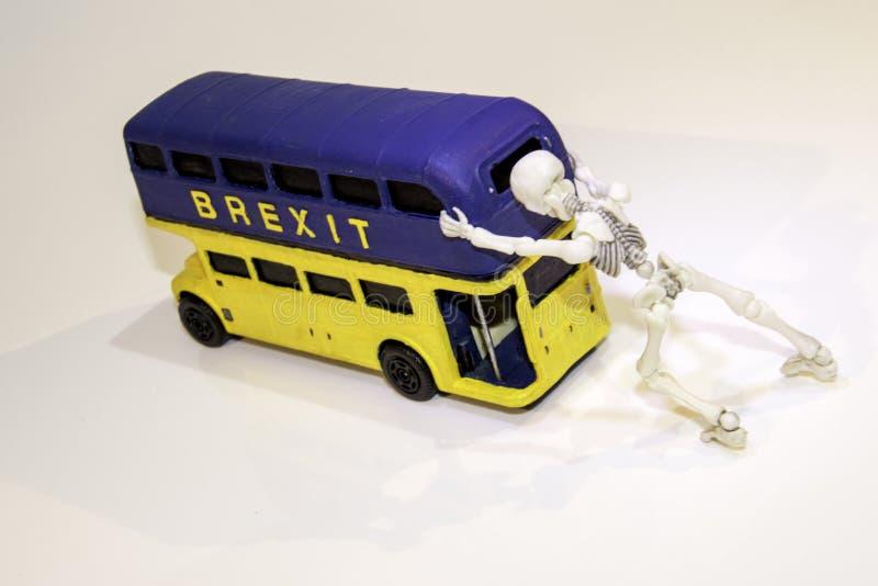 Автобус Brexit стоковые изображения rf