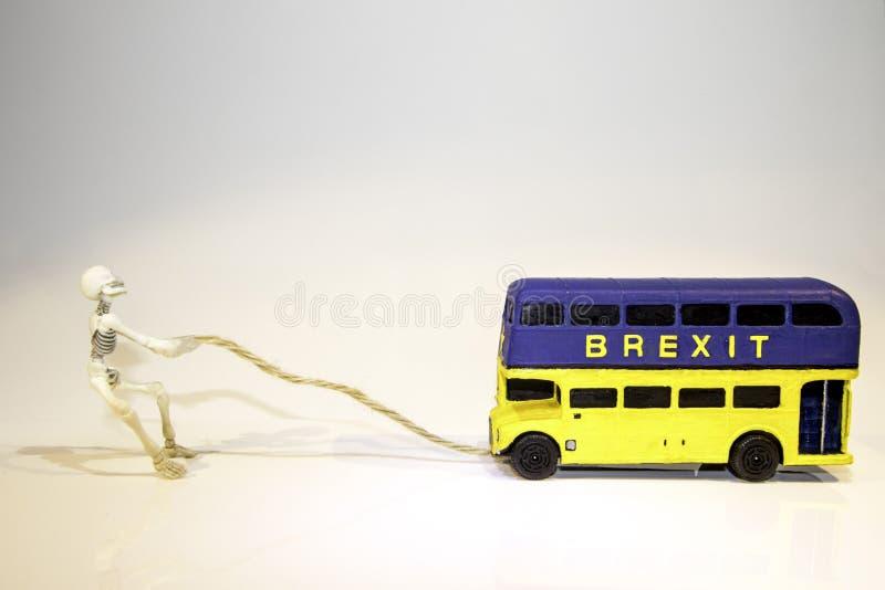 Автобус Brexit стоковое фото rf