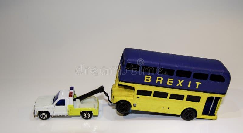 Автобус Brexit стоковые фото