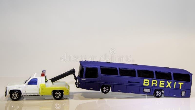 Автобус Brexit стоковая фотография