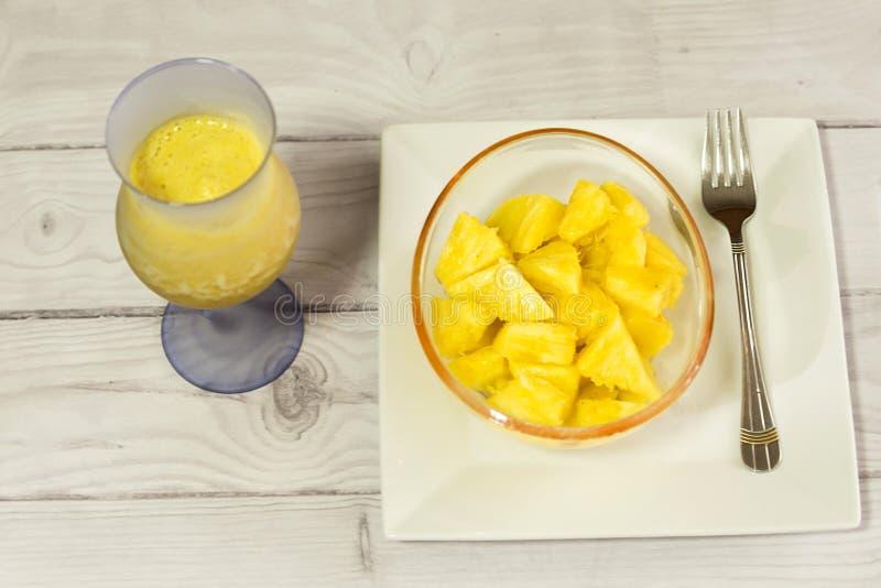 Ананас тропического плода от Южной Америки стоковая фотография