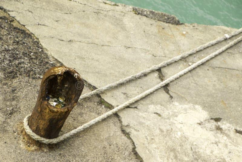Анкер веревочки стоковое фото