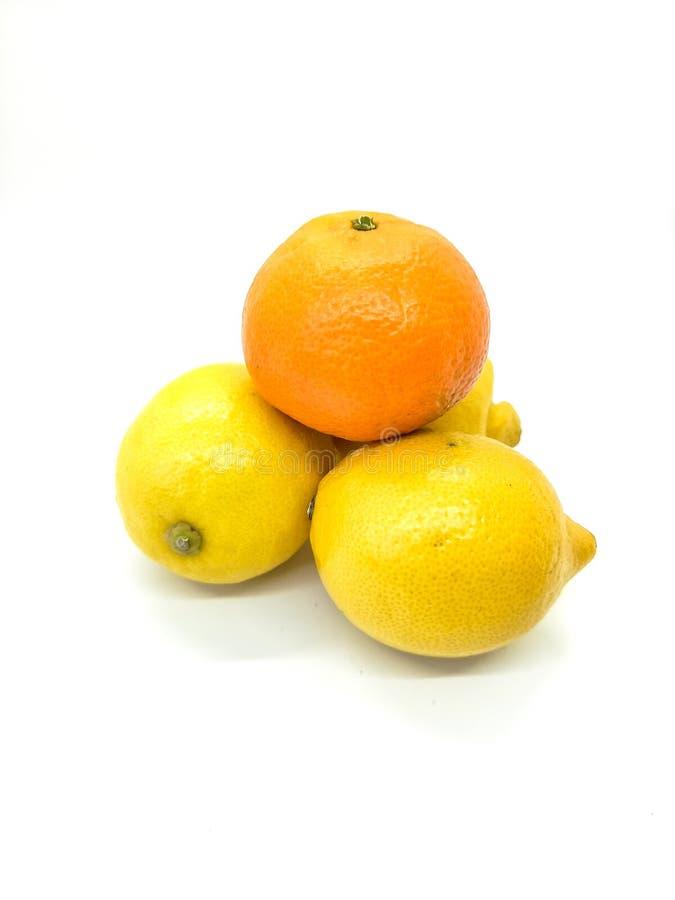 Апельсин и лимоны в составе стоковое изображение rf