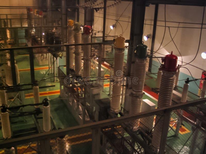 Атомная электростанция Bilibino, электростанция около городка Bilibino в Chukotka стоковые изображения rf