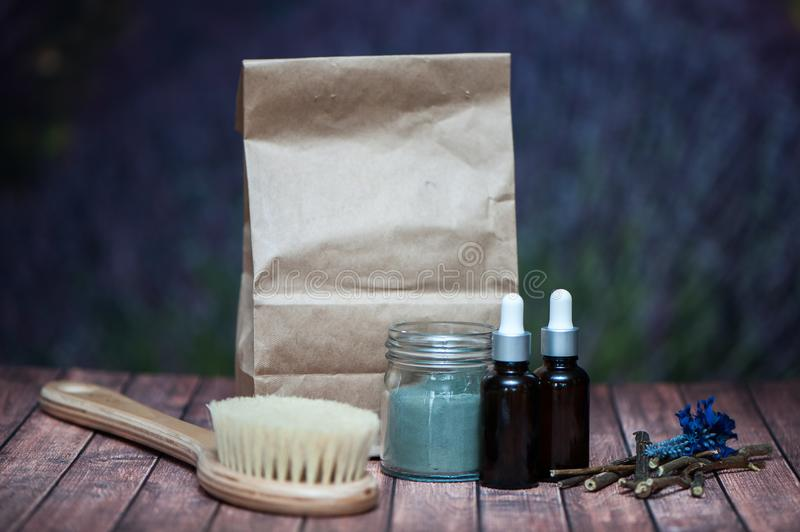 Аnticellulite, organic, bio, natural cosmetics. Remedy for cell stock images