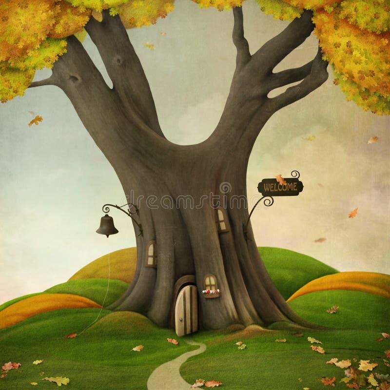 аutumn bem-vindo ilustração royalty free