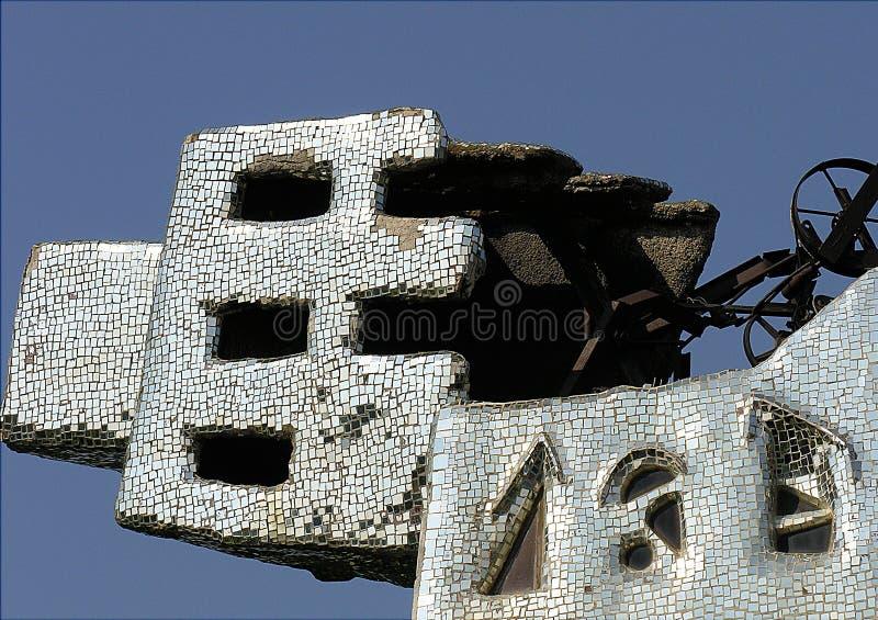 Башня мозаики стоковое фото