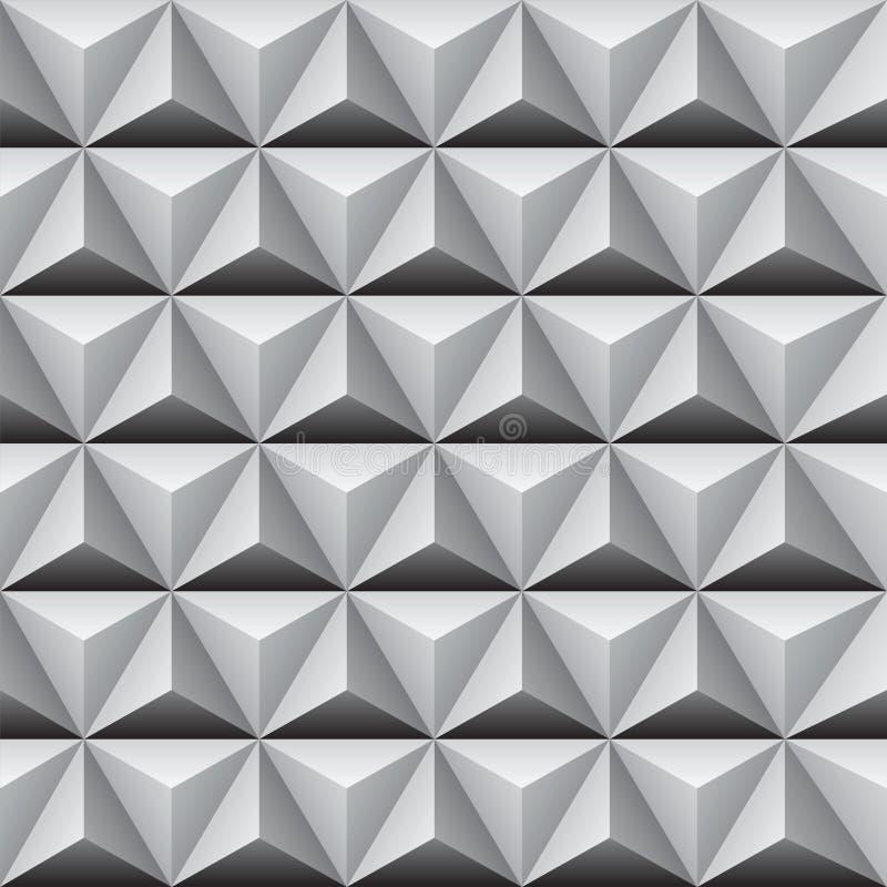 Безшовная pyramidal предпосылка конспекта картины стоковое фото