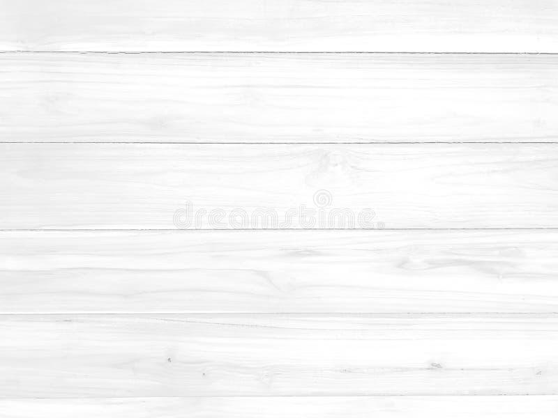 Белая горизонтальная деревянная картина текстурировала предпосылку для дизайна декоративных или работы текстуры стоковое фото rf
