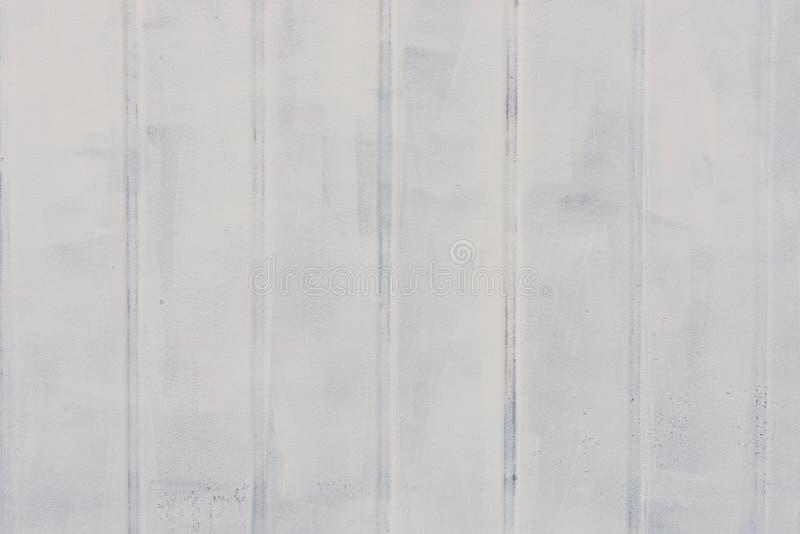 Белая покрашенная текстура стены металла стоковое фото