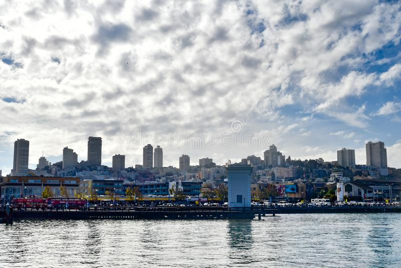 Бечевник Сан-Франциско стоковое фото