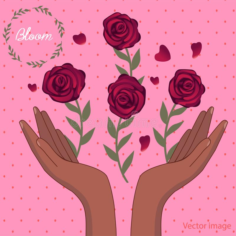 Букет изображения цветков бесплатная иллюстрация
