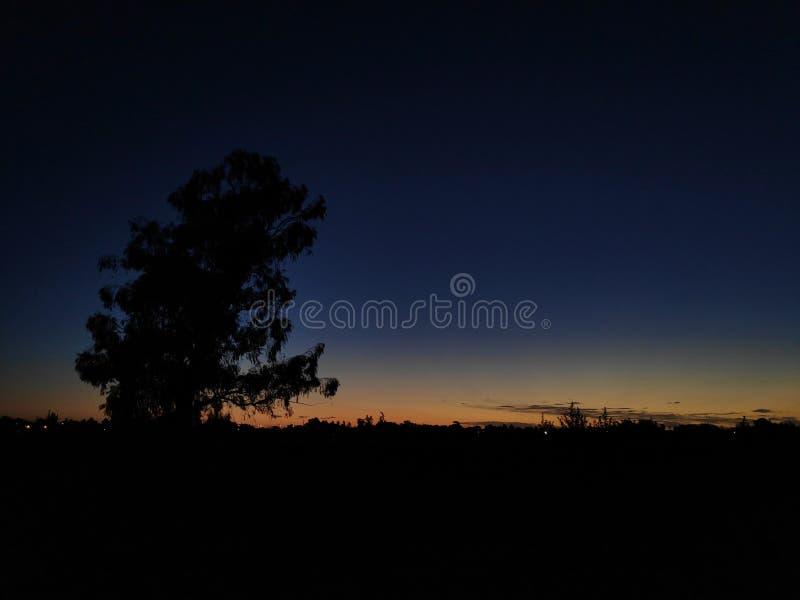 Былинный заход солнца стоковое изображение