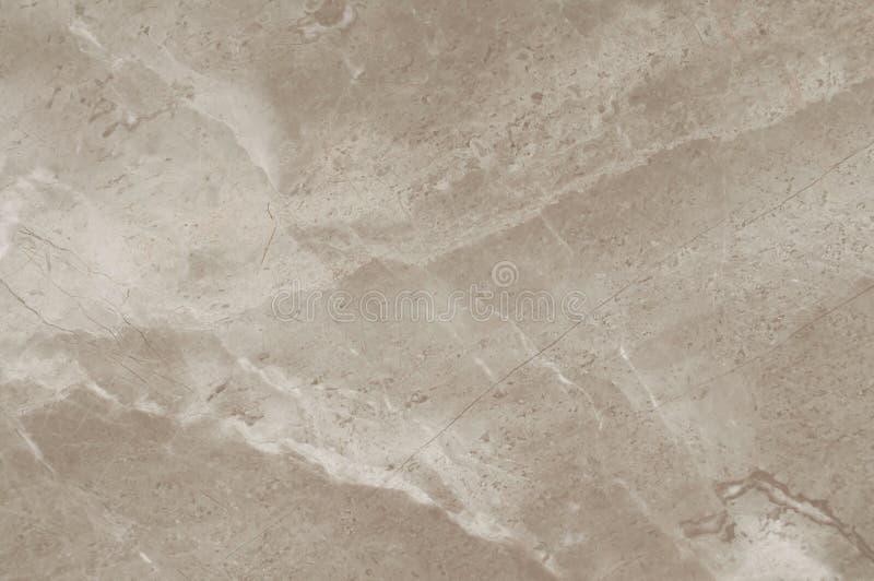 Браун, бежевая мраморная каменная предпосылка Русый мрамор, текстура кварца Картина стены и мрамора панели естественная для архит стоковая фотография