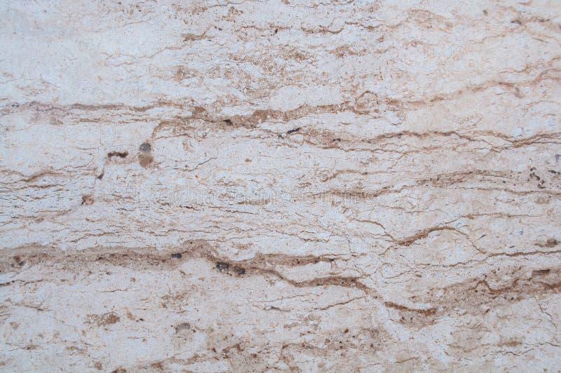 Браун, бежевая мраморная каменная предпосылка Русый мрамор, текстура кварца Картина стены и мрамора панели естественная для архит стоковое изображение