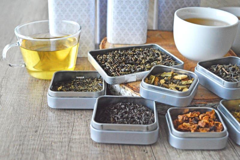Варианты чаев стоковые фото