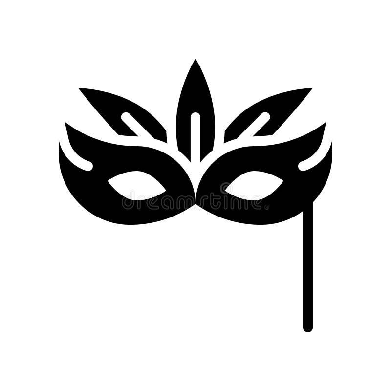 Вектор маски, пиршество линии значка St. Patrick бесплатная иллюстрация