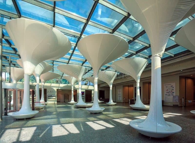 Вестибюль музея Вены технического Город вены, Австрии стоковые фотографии rf
