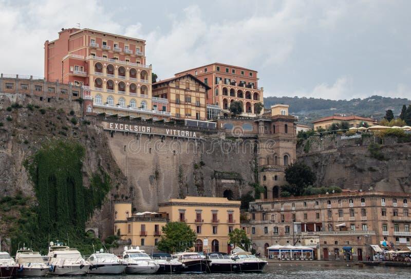 Взгляд гостиницы Vittoria эксцельсиора стоковая фотография