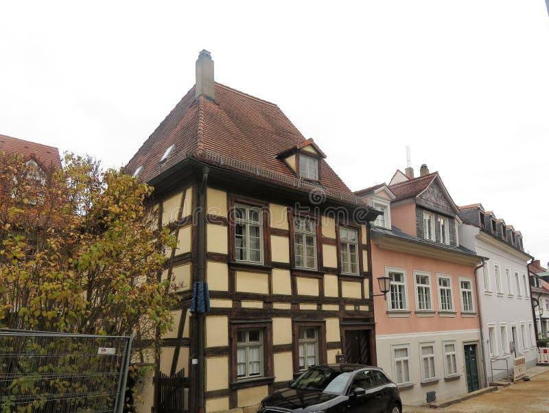 Взгляд красивого дома стоковое изображение