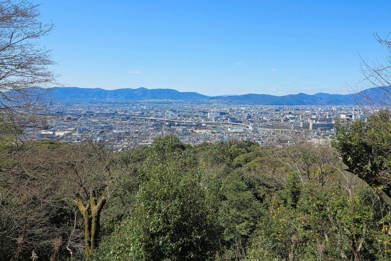 взгляд к городу Токио стоковые фото