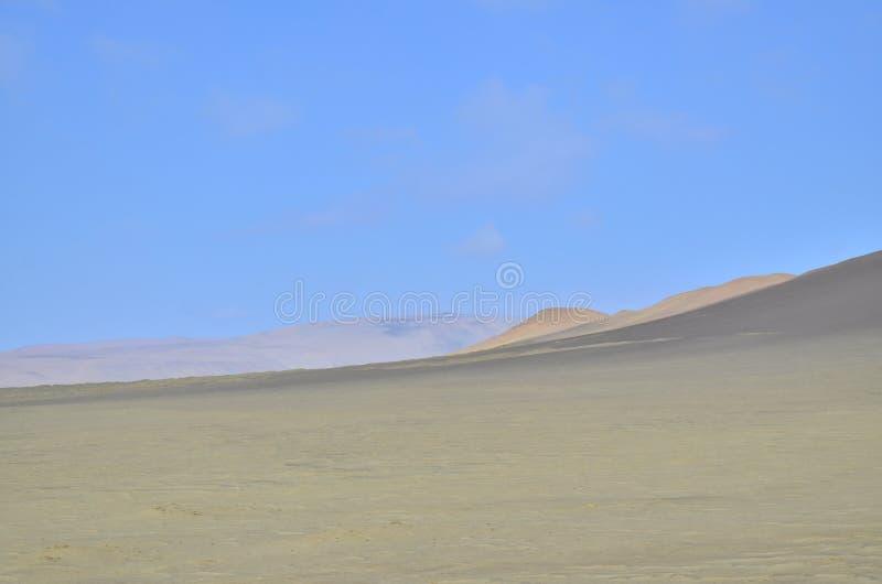 Взгляд пустыни в Южной Америке стоковое изображение