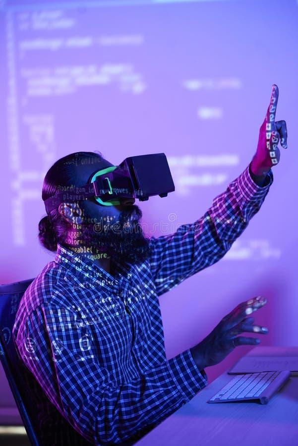 Виртуальное программирование стоковая фотография