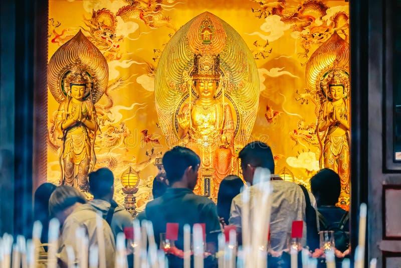 Висок и музей реликвии зуба Будды, и построенный для того чтобы расквартировать реликвию зуба исторического Будды, в Сингапуре стоковые фотографии rf