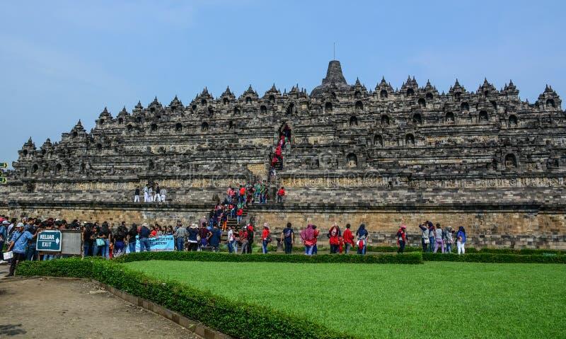 Висок Borobudur на острове Ява, Индонезии стоковое фото