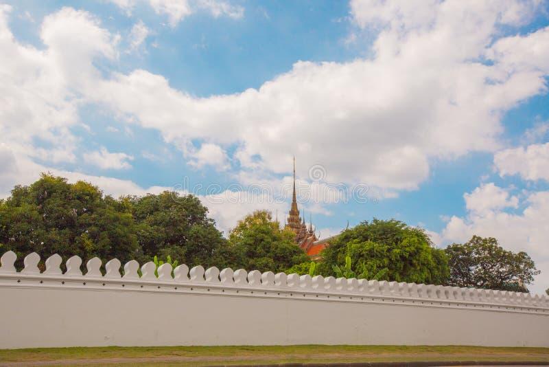 Висок Phra Kaew и королевский дворец Таиланда стоковое изображение