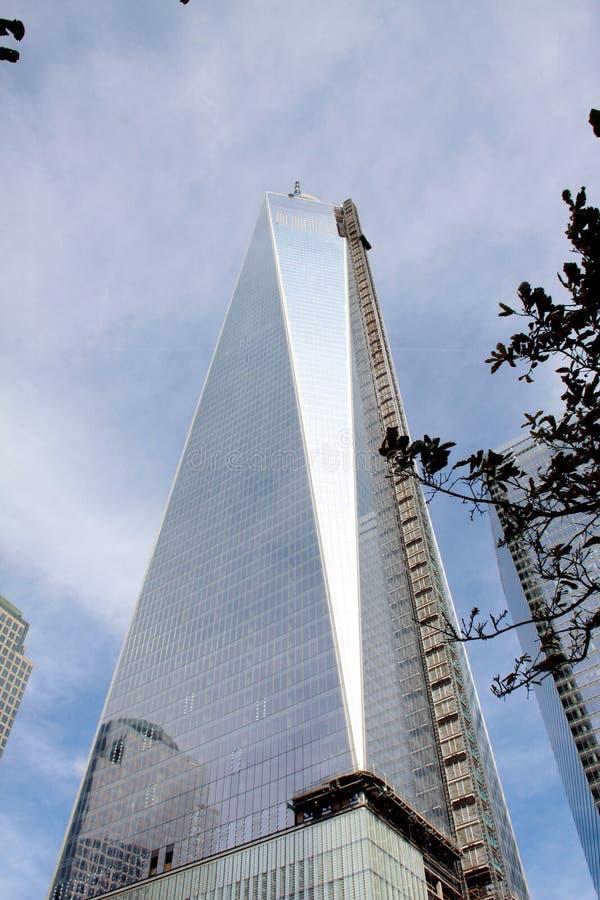 Всемирный торговый центр одно, NYC стоковые фото