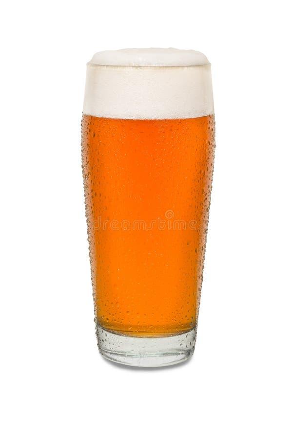 Вспотетое стекло пива 3 паба ремесла стоковая фотография