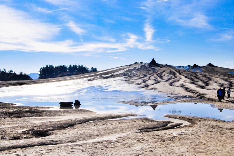 Вулканы грязи Berca стоковые фото