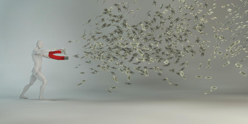 Выгодные капиталовложения предприятий иллюстрация вектора