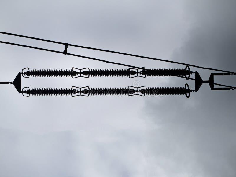 Высоковольтный амортизатор сети стоковое фото rf