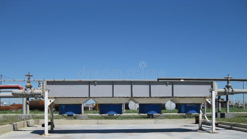 Воздушные охладители бензина и дизеля стоковые фото