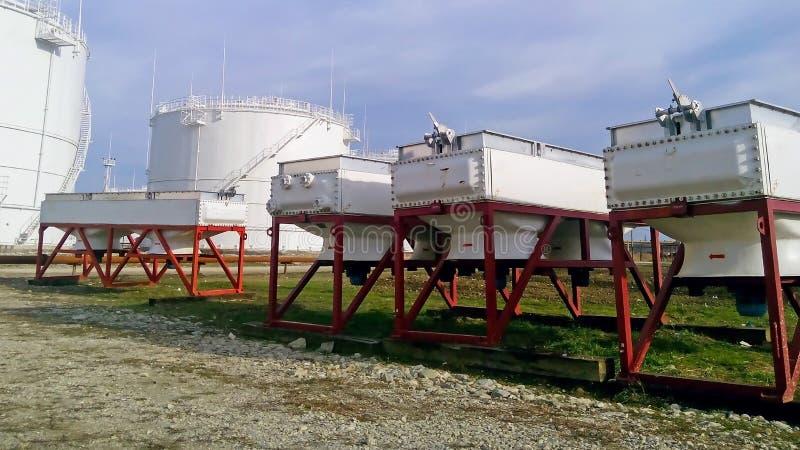 Воздушные охладители бензина стоковое фото rf
