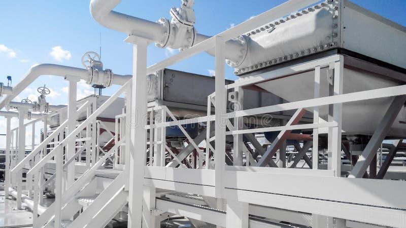 Воздушные охладители бензина стоковое изображение