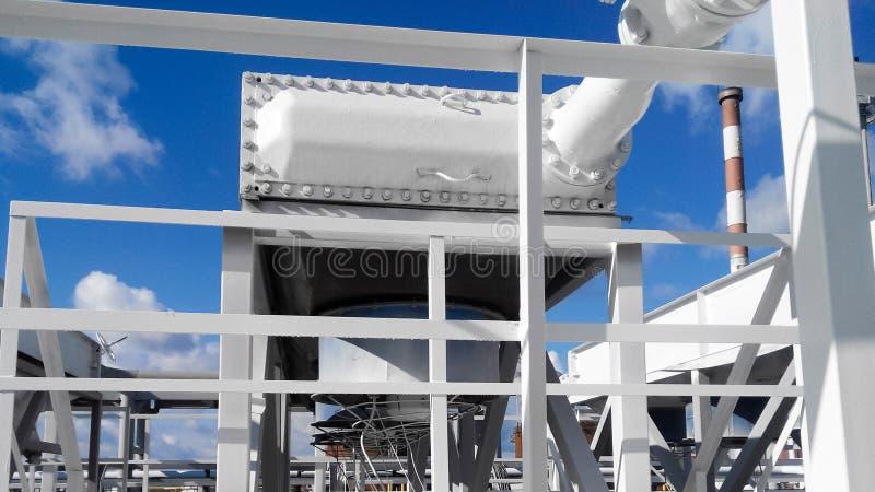 Воздушные охладители бензина стоковая фотография rf