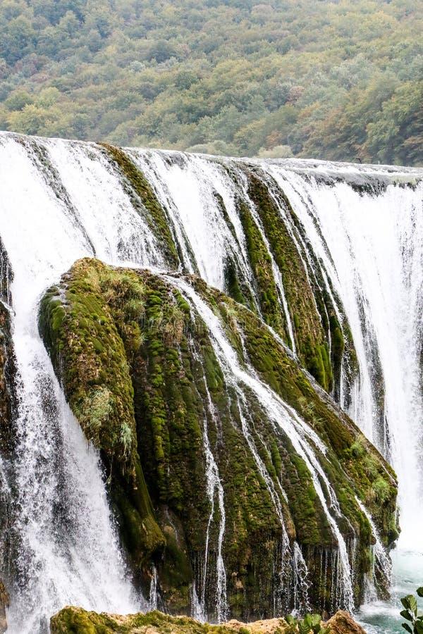 Водопад buk Strbacki стоковая фотография rf