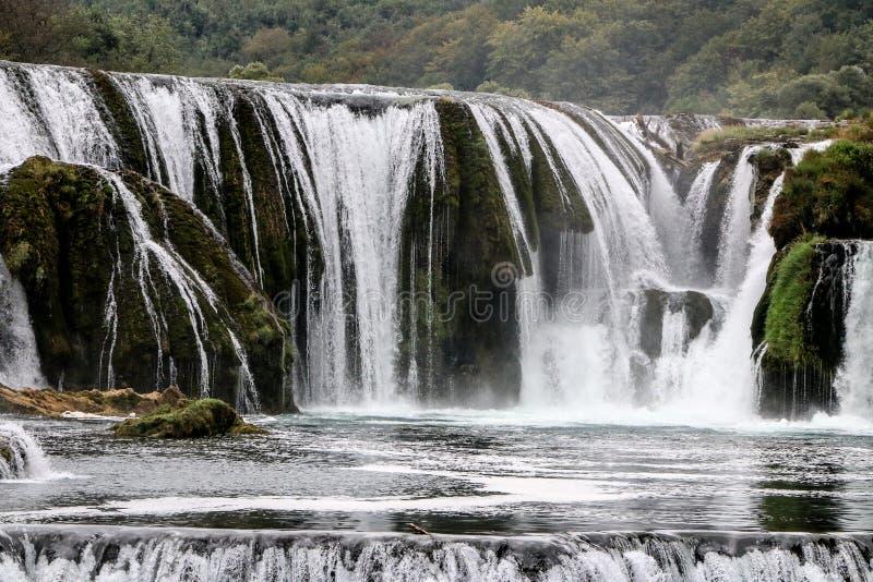 Водопад buk Strbacki стоковые изображения