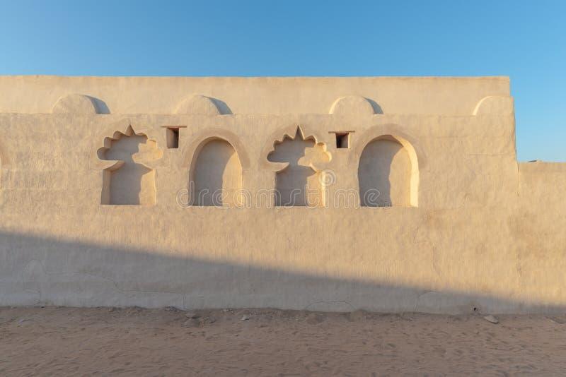 Восстановленный старый дом, Рас-Аль-Хайма стоковое фото