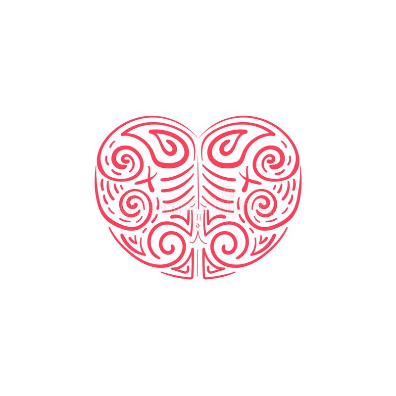 Воодушевленности дизайнов иллюстрации любов иллюстрация штока