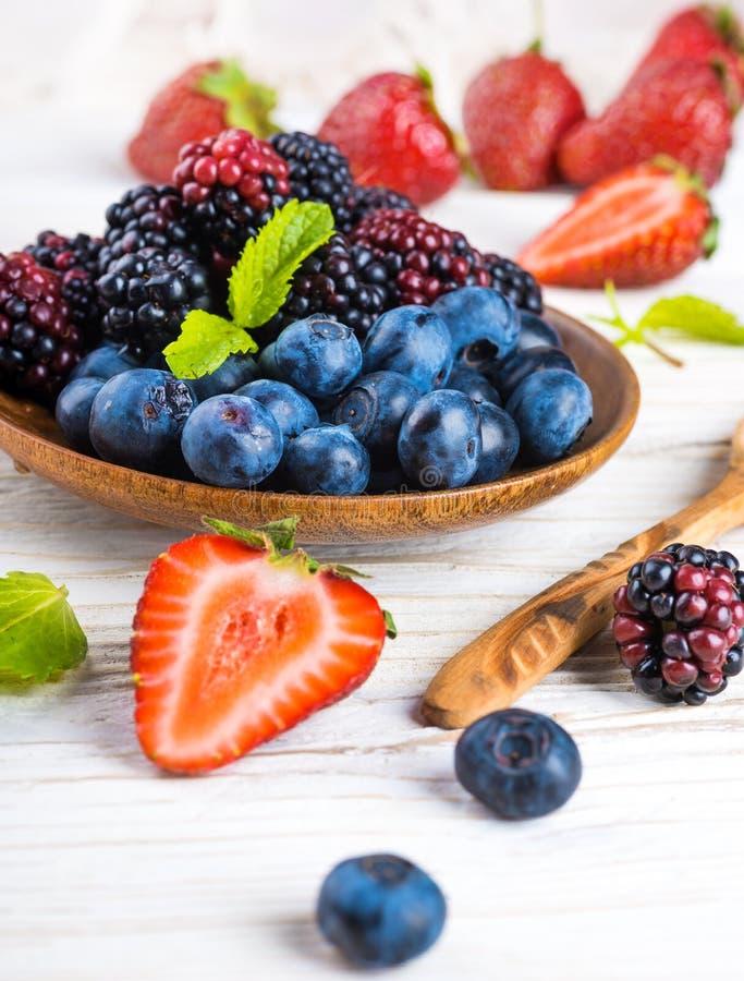 Ð'unch of wild berries stock photography