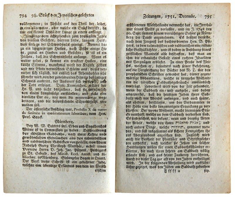 Газеты ученых Йены стоковое фото